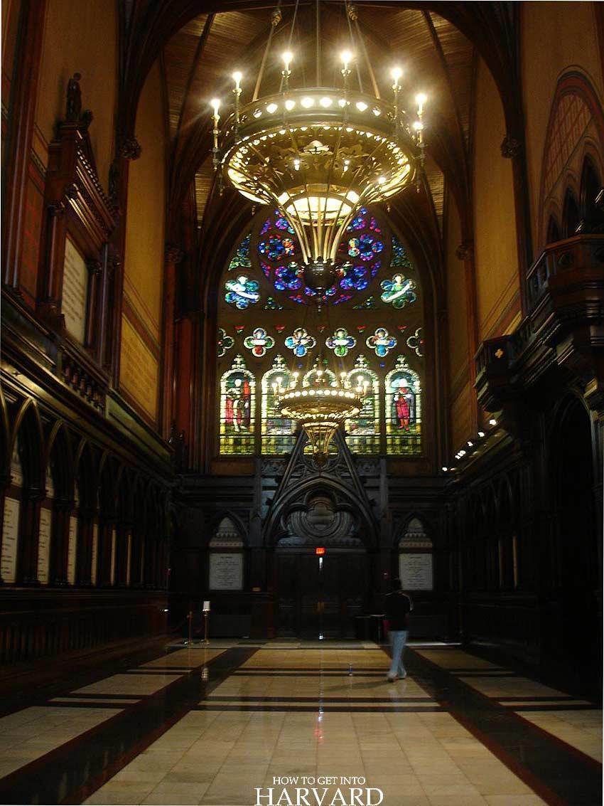 Harvard Memorial Hall Sanders Theatre University architecture