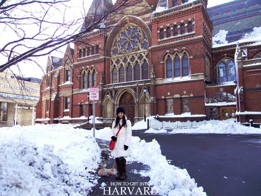 Harvard Memorial Hall University tour campus life students architecture
