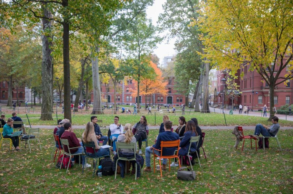 harvard university campus Weekends at Harvard yard