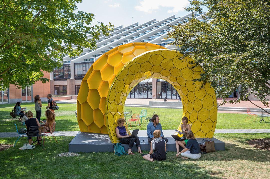 harvard university graduate school of design student exhibit